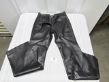 New Women's Hugo Biscoti Genuine Leather Pants