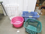 Lot Of Laundry Containers