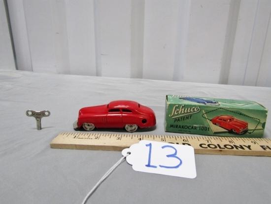 Like New Vtg Schuco Mirakocar 1001 W/ Key And Original Box