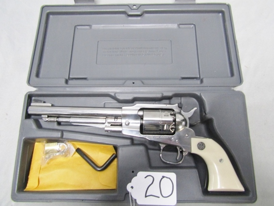 Like New Ruger Old Army Black Powder Single Action Revolver