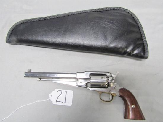 Pietta Model 1858 New Army Stainless Steel .44 Caliber Black Powder Revolver