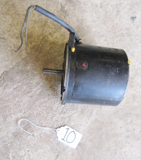 Emerson Motor Division Electric Motor Model S 55 G Y O D J - 2081