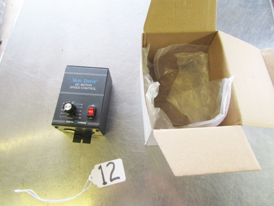 Never Used Vari - Drive D C Motor Speed Control