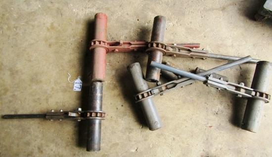 5 Cast Steel Dixie Industries 12,000 Lb Ratchet Binders