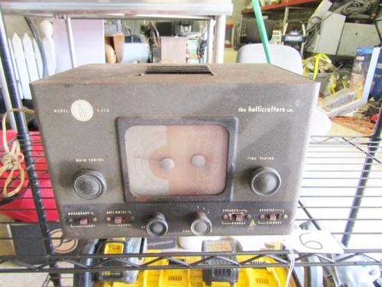 Vtg Hallicrafters Model S - 41 G Shortwave Radio