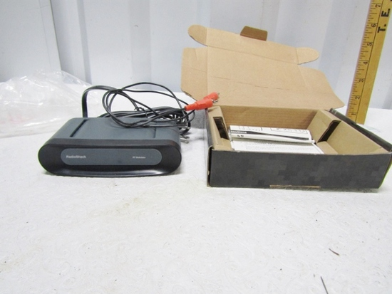 Radio Shack R F Modulator 15-2526 W/ Box