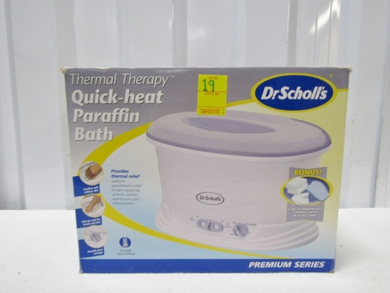 N I B Dr Scholl's Thermal Therapy Paraffin Bath