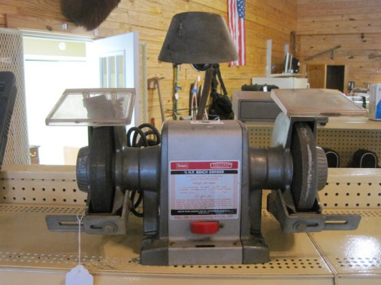 Peachy Sears Craftsman Commercial 1 2Hp Bench Grinder Model Caraccident5 Cool Chair Designs And Ideas Caraccident5Info