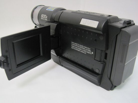 Jvc 600x Digital Zoom Compact Vhs Camcorder W Charger Bag 2 Cassettes Auctions Online Proxibid