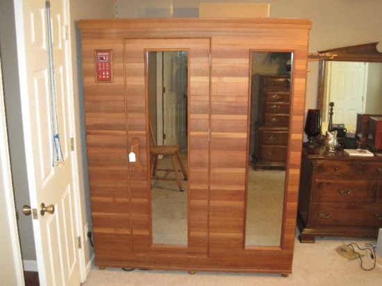 Health Mate Far Infrared Sauna w/ Deluxe Stereo Sound System