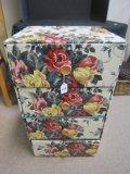Vintage Cardboard Storage Box/Drawer w/ Plastic Pulls