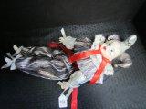 Seymour Mann Porcelain Jester Vintage Doll