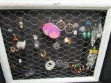 Earrings Lot - Costume Jewelry Earrings, Beaded, Sequins, Wooden, Etc.