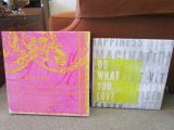 Lot - 2 Canvas Wall Art, 1 A Paris Pink Art, 1 'Do What You Love'