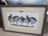 The Big Boys' by Art La May Ducks Print in Frame/Matt
