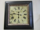 Madison Clock Co. Wall Clock in Black Frame