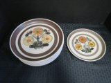 Lot - Mayflower by Denby Plates, Floral Motif