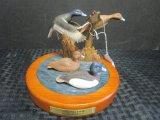 David Mass 'Feeding Time' Ducks in Flight Sculpture