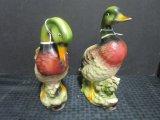 Pair - Norleans Porcelain Ducks