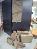 Hartman Luggage Lot - Tweed Set Luggage, Suitcase, Garment Bag, Carry Bag, Etc.