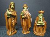 3 Wise Men Figurines Hand Made in Korea