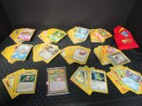 Huge Pokémon Cards Lot - Commons, Uncommons, Rares, 1 in Case, Energy Cards, Trainer Cards