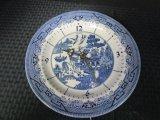Churchill, England, Regal Willow China Plate Clock