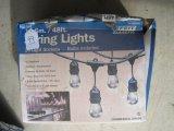 Fleet Electric 48' String Lights w/24 Light Sockets, Bulbs Included