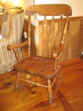 Pine Virginia House Colonial Style Rocker