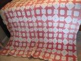 Block & Diamond Pattern Quilt