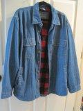 Covington Blue Jean Fleece Lined Shirt