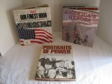Lot - 3 Books America's Heroes 9-11 © 2001, Portraits of Power © 1979