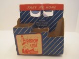 Vintage Harmony Club Beverages Cardboard Six Pack Carry Case