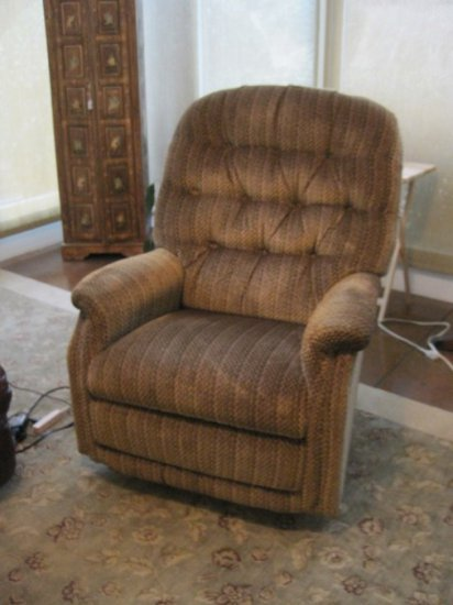La-Z-Boy Brown Rockery Recliner