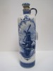 Delft Blue/White BOLS Porcelain Decanter Jug w/ Corkstopper