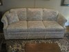 Highland House of Hickory Inc. Formal Sofa w/ Curved Rolled Arms