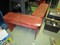 Pair - Red Wooden Benches