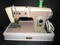 Riccar Vintage Sewing Machine w/ Spool, Etc. in Case