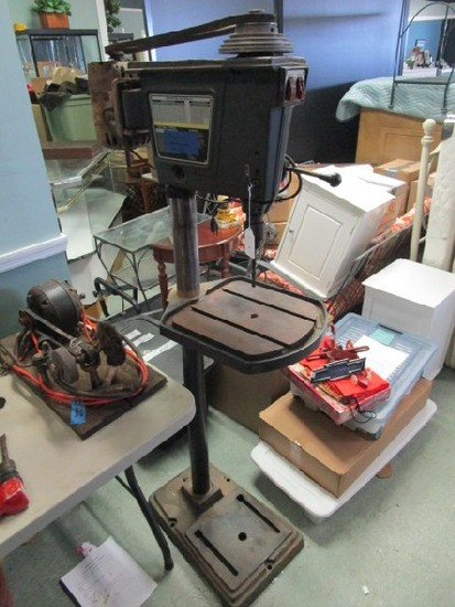 Sears Craftsman Standing Belt Drive Drill Press