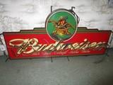 Budweiser Neon Advertisement Sign/Wall Hanging Décor