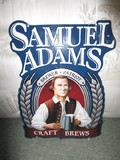 Samuel Adams Craft Brews Metal Wall Décor