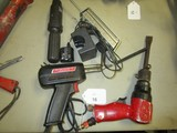 Tool Lot - Sunex Model SX-235 Air Hammer, Weller 100/440 Watts Solder Model 8200N