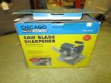 Chicago Saw Blade Sharpener in Original Box