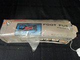 Buffalo Foot Pump w/ Gauge in Original Box