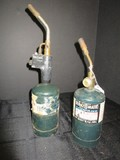 Wenzel 1887 Propane Fuel Blowtorch & Bernz-O-Matic Propane Blow Torch
