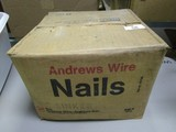 Unopened Box of Andrew Wire Nails