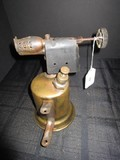 Vintage Bell-Shaped Brass Blowtorch Rochester Otto Bernz Co.