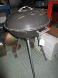 Char-Broil Black Metal Grill on 2 Wheels
