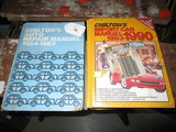 Chillers Auto Repair Manual 1954-1965 © 1971 & Chillers Import Car Manual 1983-1990 © 1989