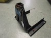 Lawn Mower Trailer Hitch Blue Metal